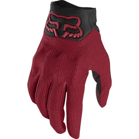 Fox Defend Kevlar D3O Gants Homme, cardinal